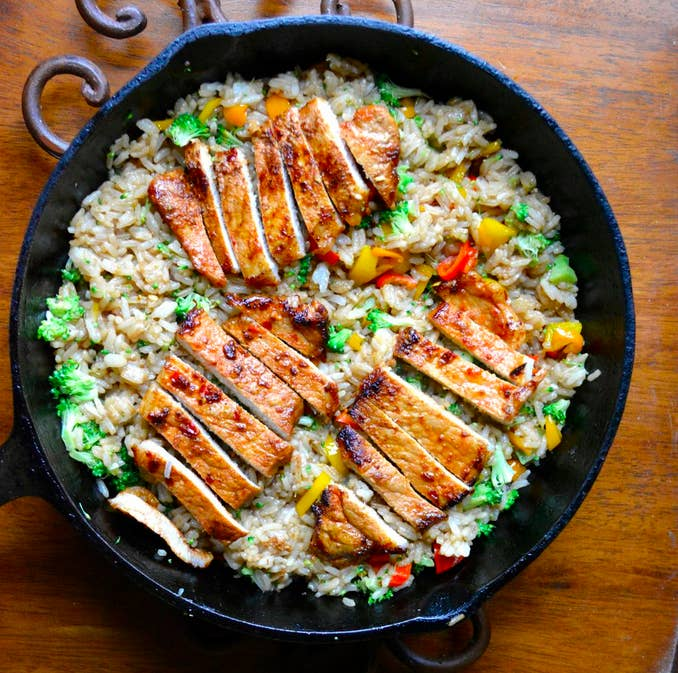 23 budget friendly pork chop recipes the easy marinade of lemon garlic soy sauce sriracha and sesame forumfinder Image collections