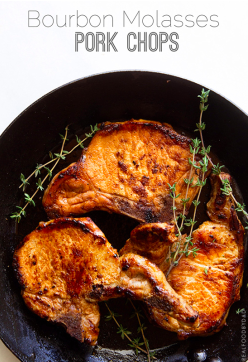 Pork chop molasses recipe