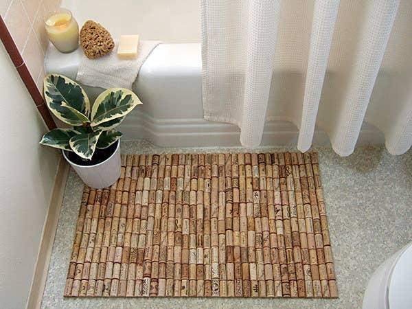 9. Make a new bath mat.