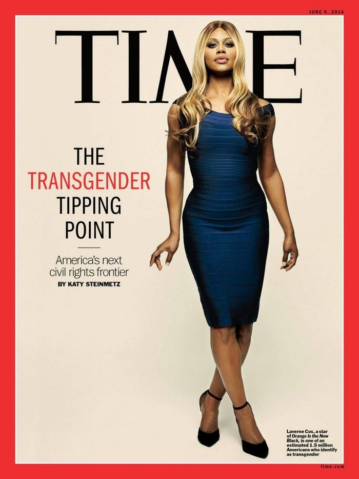 According to this TIME magazine cover story, it was in the summer of 2014 that transgender tipped (and Christine Jorgenson rolled over in her grave)! Congrats to Laverne Cox, who acted as brave and beautiful figurehead to this sensational media event!