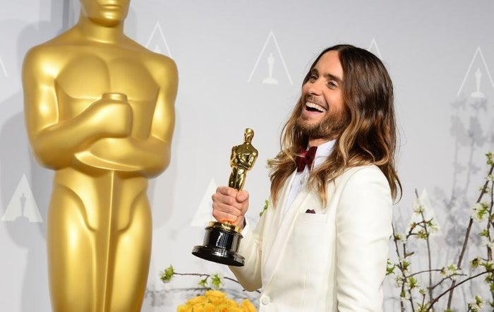 """Jared Leto won an Academy Award for his supporting role as HIV+ transwoman Rayon in Dallas Buyers Club, and the hashtag #notyourrayon was born. (Read Fallon Fox's piece in TIME mag about it.) Trans people were pissed, and many great interventions and critiques were made about """"trans face"""" (i.e., non-trans actors playing trans characters). This film also signaled Hollywood's renewed interest in AIDS dramas for straight people! (See Home Video Returns: Media Ecologies of the Past of HIV/AIDS by Alex Juhasz & Ted Kerr.)"""