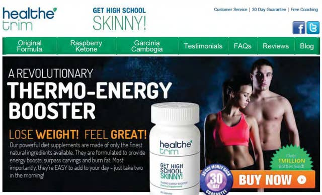 diet pill weight loss scams