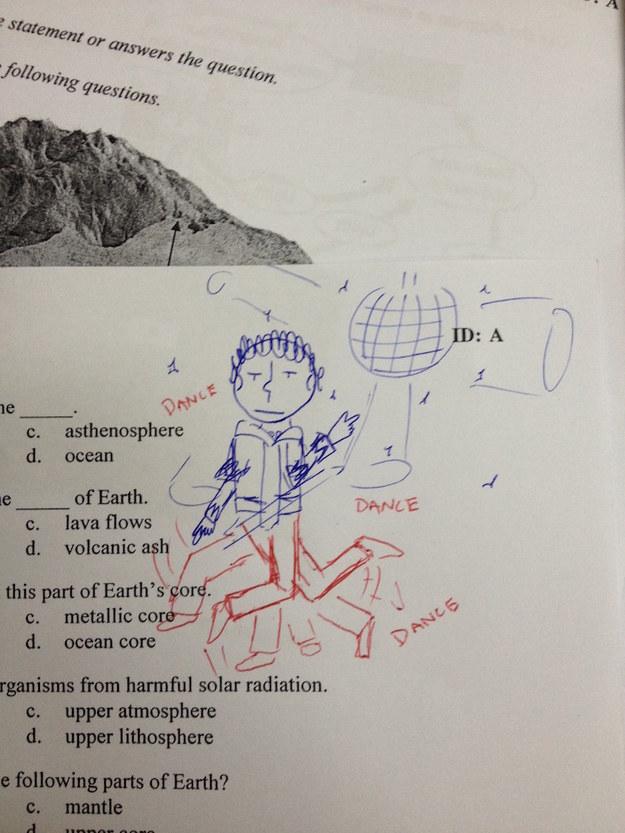 I would like to be a science teacher...?