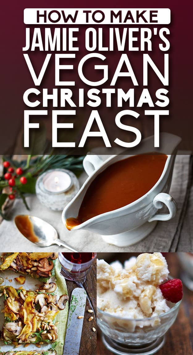 How To Make Jamie Olivers Vegan Christmas Feast