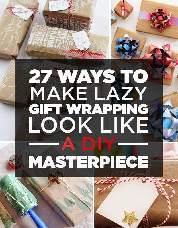 27 clever gift wrapping tricks for lazy people share on facebook share solutioingenieria Gallery