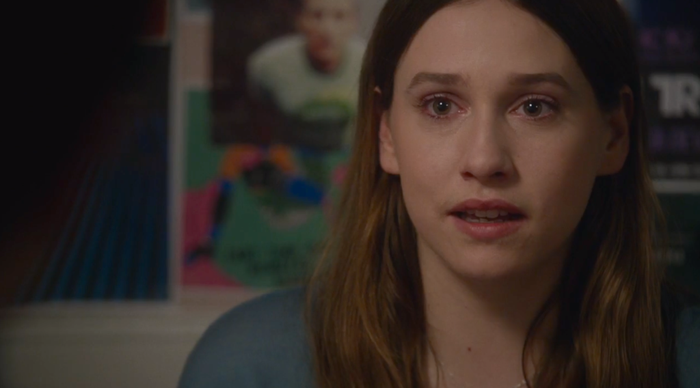 Mary (Sarah Sutherland) in the Dec. 7 episode of The Newsroom