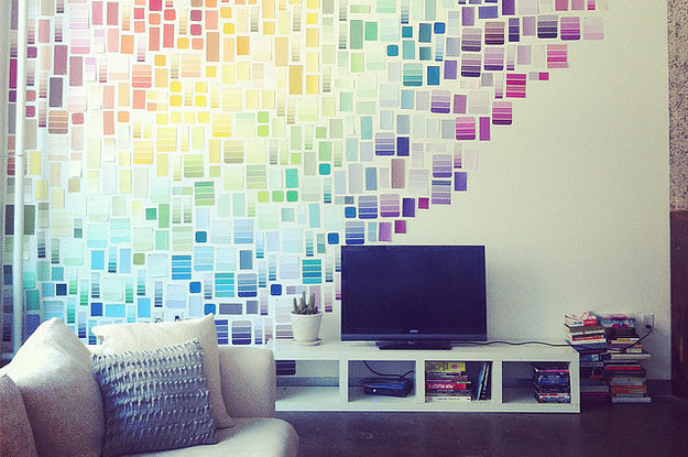 29 impossibly creative ways to completely transform your walls - Things to put on a wall ...