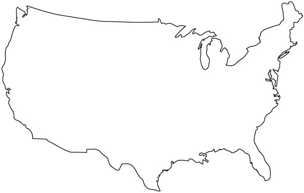 Can You Guess The Country Based On Its Outline - Country outlines