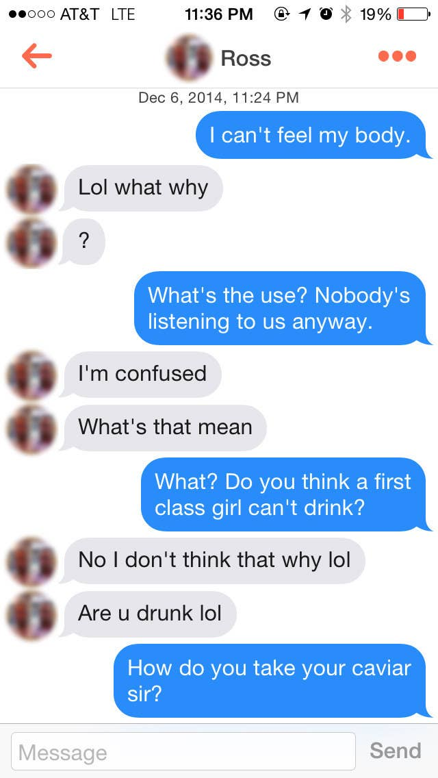 This Is What Happens On Tinder When You Use Only