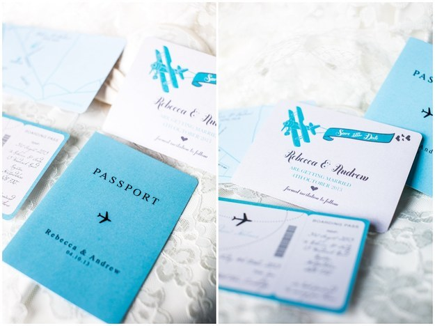 15 Awesome Ideas For Your Travel Themed Wedding – Passport Themed Wedding Invitations