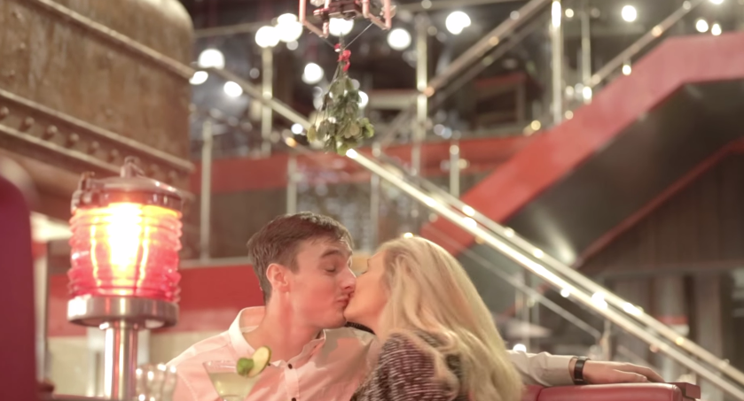 A Mistletoe-Carrying Drone Caused Bloodshed At A TGI Friday's