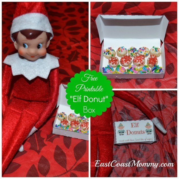 image relating to Elf on the Shelf Kissing Booth Free Printable called 18 Printables In the direction of Actually Up Your Elf Upon The Shelf Video game