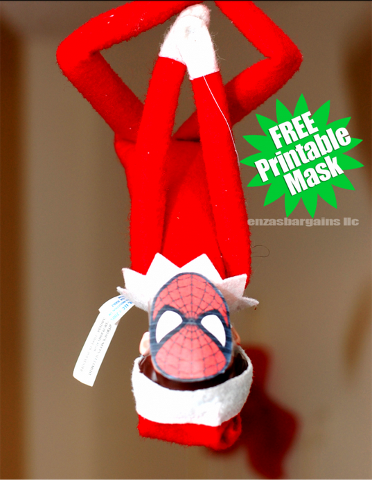 graphic about Elf on the Shelf Printable Props named 18 Printables Toward Genuinely Up Your Elf Upon The Shelf Recreation