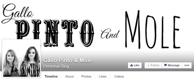 O blog Gallo Pinto & Mole , feito por duas latinas que moram em Los Angeles.