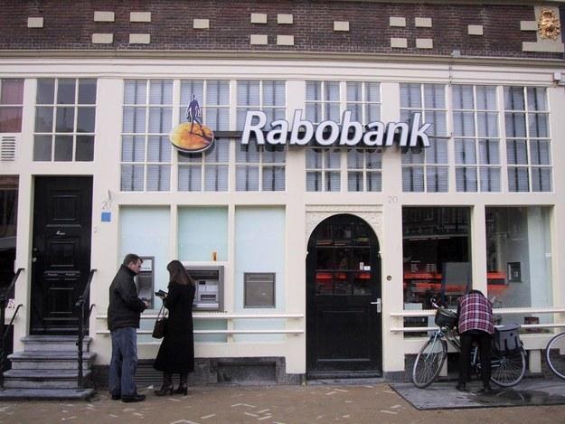O banco holandês Rabobank .