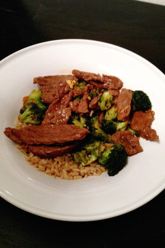 MY BEEF WITH BROCCOLI