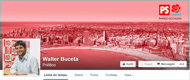 O político argentino Walter Buceta .