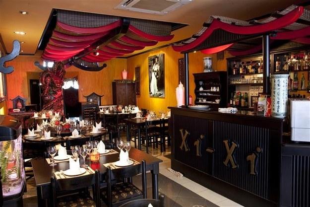 O restaurante chinês Xi-Xi , em Gozo (rs), Malta.