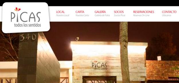 O restaurante peruano Picas .