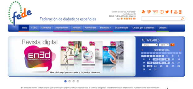 A Federación de diabéticos españoles ( Fede ).