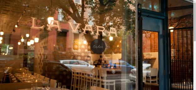 O restaurante novaiorquino La Vara .