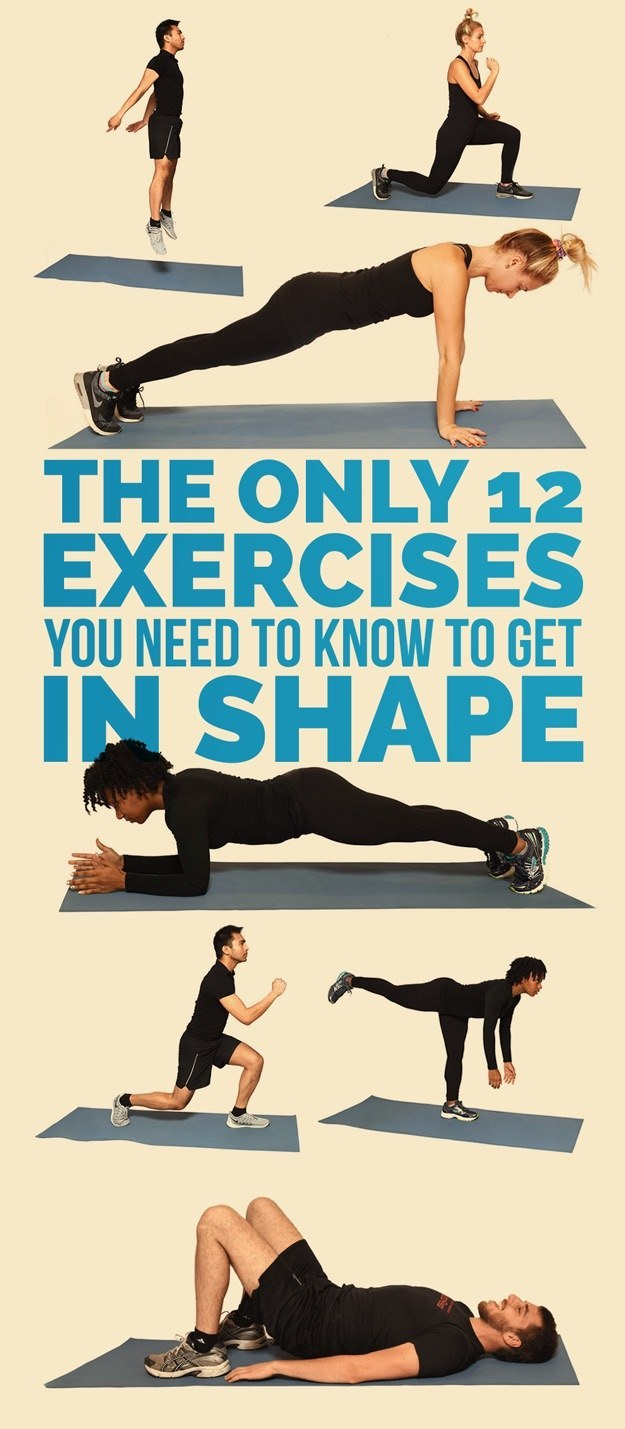 How to Get in Shape With Exercise