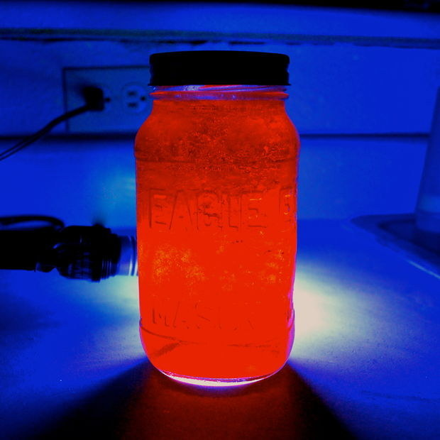 Learn about luminescence with glowing Jell-O.