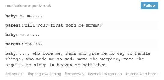 23 Times The Musical Theater Side Of Tumblr Was Not OK