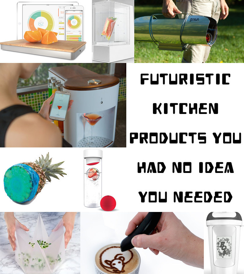 39 Futuristic Kitchen Products You Had No Idea You Needed