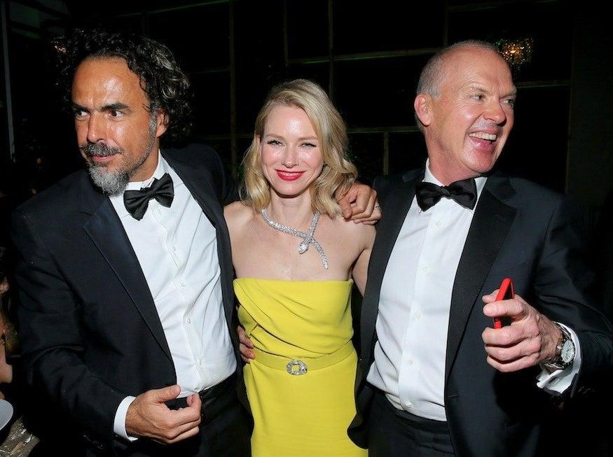 Alejandro González Iñárritu, Naomi Watts, Michael Keaton