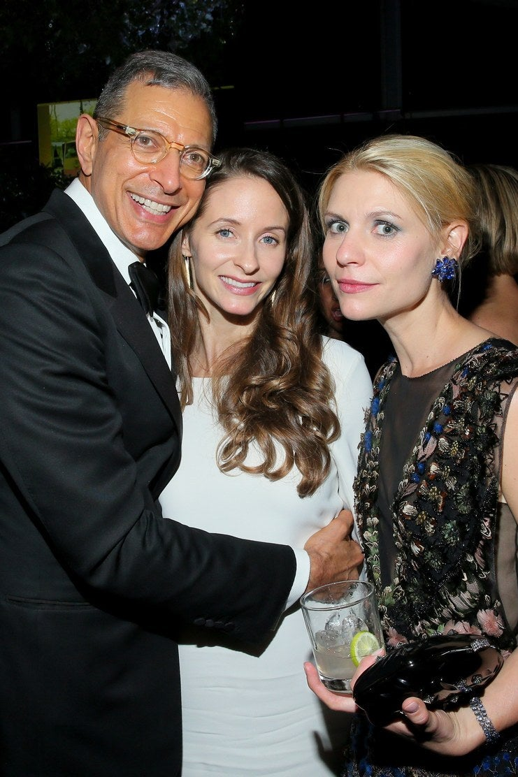 Jeff Goldblum, Emilie Livingston-Goldblum et Claire Danes