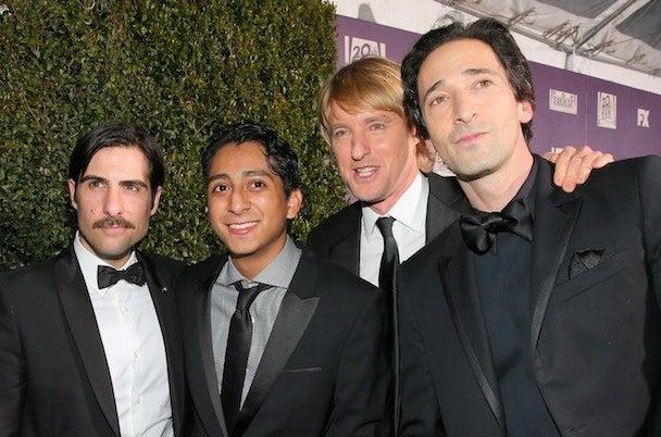 Jason Schwartzman, Anthony Quinonez, Owen Wilson, et Adrien Brody