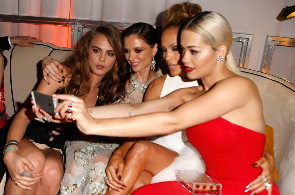 Cara Delevingne, Georgina Chapman, Jennifer Lopez et Rita Ora