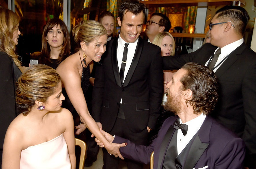 Camila Alves, Jennifer Aniston, Justin Theroux et Matthew McConaughey