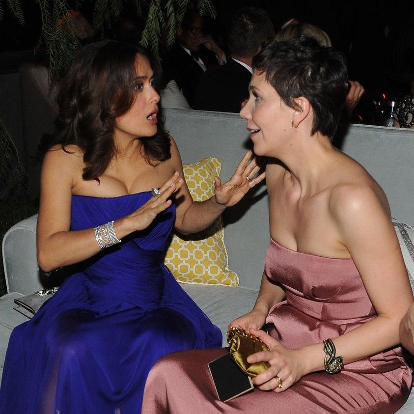 Salma Hayek et Maggie Gyllenhaal