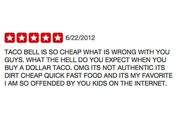 17 Hilarious Five Star Reviews Of Fast Food Restaurants