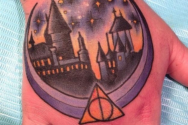 33 Tatouages Harry Potter Qui Vous Feront Replonger En Enfance