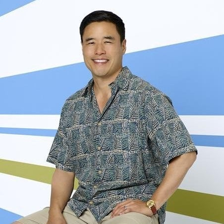 Randall Park as Louis Huang on ABC's Fresh Off the Boat