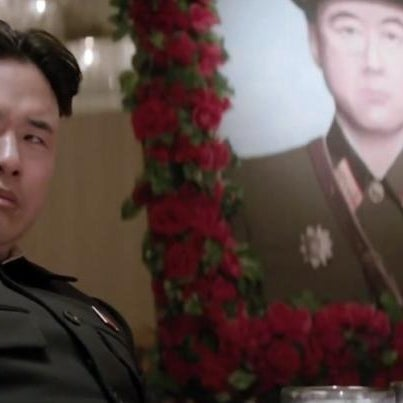 Randall Park as Kim Jong-un in The Interview