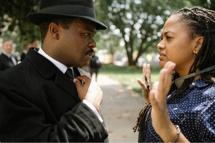 """While it's true that Selma earned a Best Picture nomination, with only one other nod to its name —Best Original Song, for """"Glory"""" —this film has the strange distinction of being regarded by the Academy as one of the best films of the year in sum, but not in any of its parts.And this is fucking depressing. Yes, there has been a great deal of press about Selma's perceived slights against historical accuracy, specifically the legacy of President Lyndon B. Johnson (played in the film by Tom Wilkinson). Yes, Paramount Pictures has been criticized for not sending out DVD screeners of the film to all the members of the various Hollywood guilds, as has become the custom for most movies vying for major Oscar hardware. And yes, the film's limited Christmas theatrical release meant that the movie had precious little time to gain a toehold in an awards season where two of the biggest nominees this year (Boyhood and The Grand Budapest Hotel) were released before September.But come on. Historically based movies have been fudging with history for dramatic effect in ways small and large since movies have existed, and many have still gone on to win Best Picture, including 12 Years a Slave, Argo, The King's Speech, A Beautiful Mind, Gladiator, Titanic, Braveheart, Schindler's List… You get my point. Acting like this movie's perceived historical inaccuracies are somehow a disqualifying moral lapse is itself oddly ignorant of filmmaking history.And while Paramount should have been more aggressive about putting this movie in front of busy members of the film industry, Selma had been playing in theaters in New York and L.A. for two weeks before nominations were due. This is one of the most acclaimed, relevant, and discussed movies of the year. Absent widespread studio screeners, the onus here should be at least as much on individual Academy members to see the damn film any way they can.Certainly, one should allow for the fact that some Academy members may just have not cared for Selma en"""