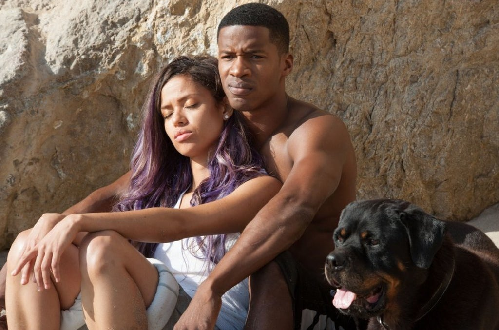 Gugu Mbatha-Raw and Nate Parker in Beyond The Lights