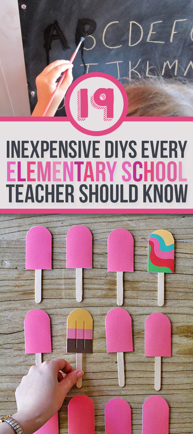 Classroom Ideas Buzzfeed ~ Ridiculously simple diys every elementary school