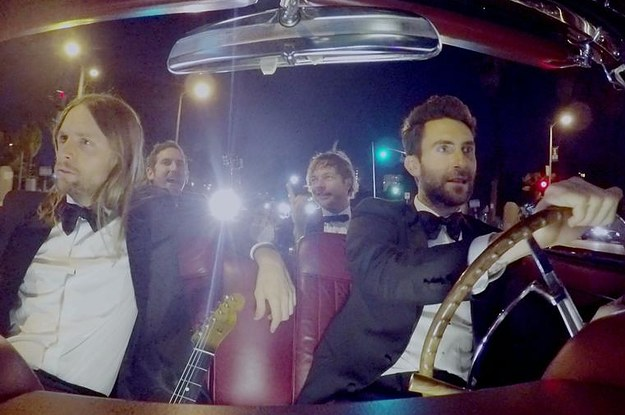 Maroon 5 crashed a bunch of weddings to perform sugar for Maroon 5 wedding video