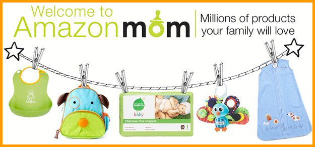 Save 20% on diapers and 15% off of your baby registry with Amazon Family.