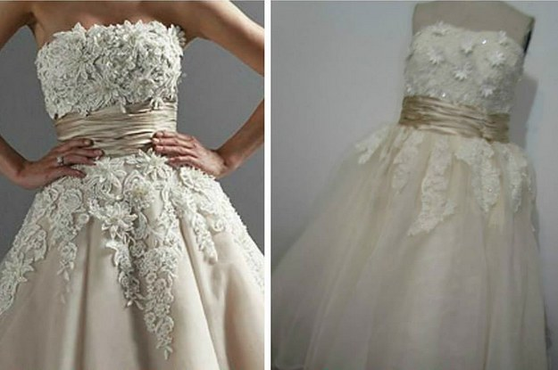These Terrible Knockoffs Are Why You Shouldnu0027t Buy A Wedding Dress Online