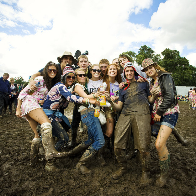 A three-day mud festival