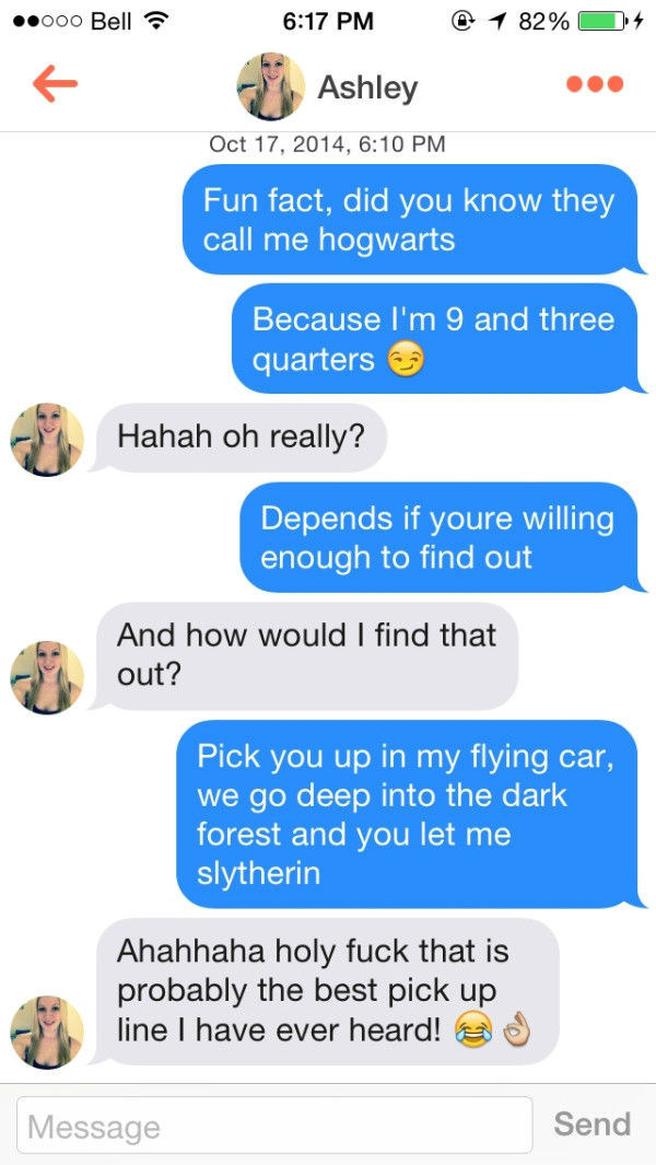 Pick Up Lines That Work Every Time