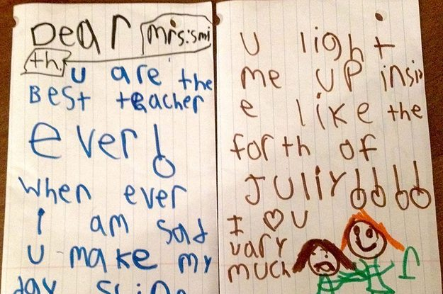 Teacher ThankYou Notes That Make It All Worthwhile