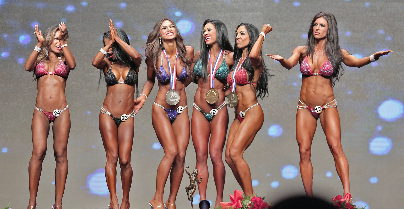 Training, Tanning, and Branding With The Bikini Bodybuilding Stars Of Instagram