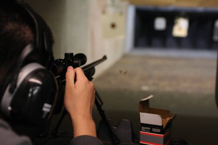 Parliament Has A Secret Underground Shooting Range And They're About